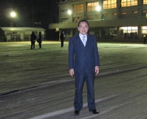 IMG_1630中村小学校夜間照明設置