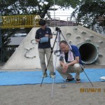 豊玉小学校砂場の測定