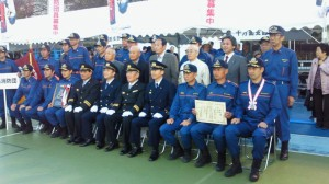 H24.11.10東京都消防操法大会準優勝